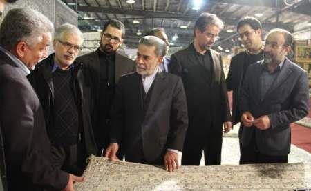 تاکید استاندار یزد بر شناسایی بازارهای جدید صادرات فرش دستباف