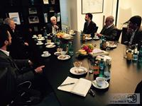 Click to view album: professional meeting for handmade carpets in Germany