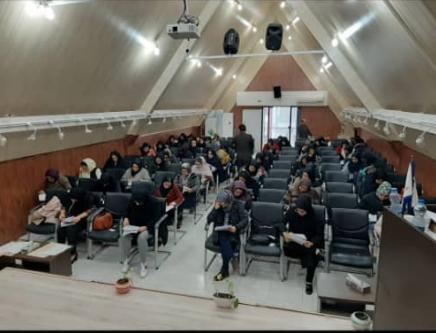 برگزاری آزمون فنی وحرفه ای فرش دستباف در منطقه آزاد انزلی