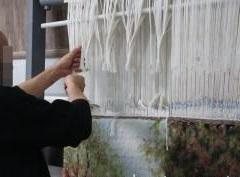 بافت فرش هزار متری توسط زندانیان قزوین