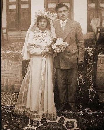 کاربرد قالی در مراسم عروسی
