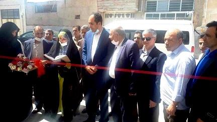 افتتاح فاز دوم مجتمع بزرگ قالی بافی شهر هرند  توسط رئیس مرکز ملی فرش ایران