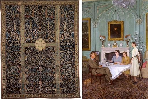 فرش های زیبای صفوی در نقاشی های معروف اروپایی