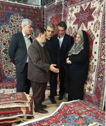 پانزدهمین نمایشگاه استانی فرش دستباف کرمانشاه آغاز به کار کرد