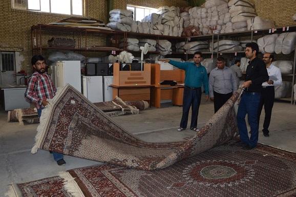خرید 90 تخته فرش دستباف از بافندگان خراسان جنوبی