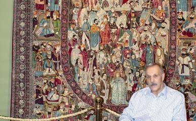 مجموعه فرش و قلمزنی ۱۸۰ میلیاردی به دانشگاه تهران اهدا شد
