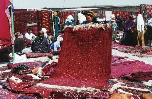 تأثیرپذیری فرش ترکمن از اقلیم و فرهنگ ترکمنها