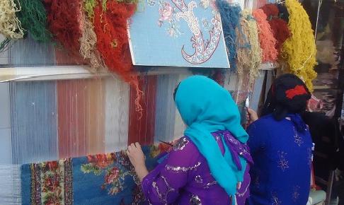 برگزاری ۲۱ دوره آموزشی فرش دستباف در لرستان