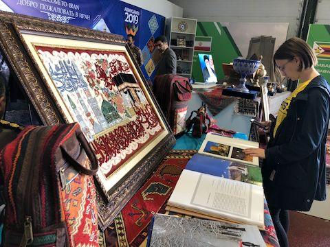 نمایشگاه فرهنگی ایران در مسکو گشایش یافت