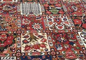 بافت 60هزار متر مربع فرش دستباف در چهارمحال و بختیاری