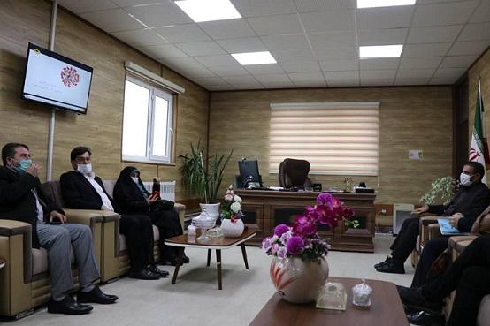 در دیدار رییس مرکز ملی فرش ایران با فرماندار شهرستان نیر صورت گرفت
