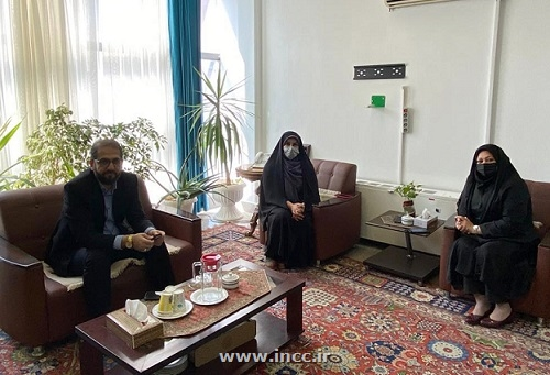 دیدار رییس مرکز ملی فرش ایران با عضو هیات مدیره بیمه ملت