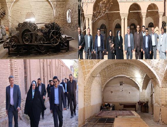 آواز خوش دارهای قالی کرمان / چراغ باغ موزه فرش کرمان روشن میشود