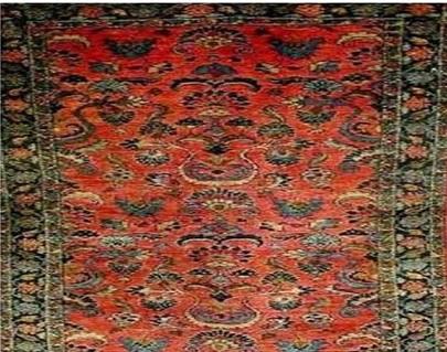 قالی لیلیان  در روستای لیلیان خمین تولید میشده و قالی ارمنی باف این منطقه شهرت جهانی دارد