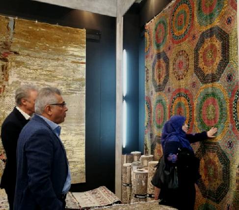 فرش دستباف ایران در صدر جدول کیفیت و زیبایی دموتکس 2019