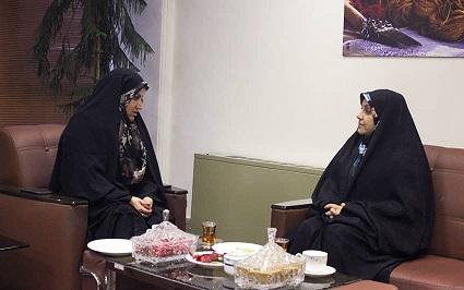 دیدار رییس مرکز ملی فرش ایران با مدیرکل امور اقتصادی و دارائی استان تهران