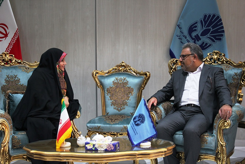 ورود رئیس سازمان صنعت، معدن و تجارت اصفهان به بیست و هشتمین نمایشگاه فرش دستباف ایران