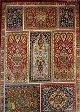 بافت ۲۰۰ هزار متر مربع فرش دستباف در چهارمحال و بختیاری