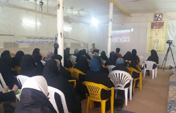 برگزاری دوره آموزش مربیان قالی بافی در شهر سمنان