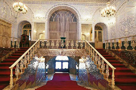 نمایش شاهکارهای هنری کاخ گلستان برای نخستین بار