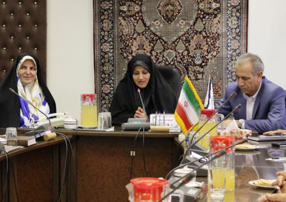 ستاد بیست و  هشتمین نمایشگاه فرش دستباف ایران با حضور اعضا در مرکز ملی فرش ایران تشکیل جلسه داد.