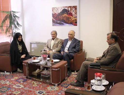 ساماندهی مواد اولیه فرش دستباف در مرکز ملی فرش ایران