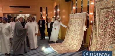 استقبال از نمایشگاه فرش نفیس ایرانی در عمان