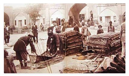صنعت فرش و سرمایهگذاری شرکتهای غربی در دوره قاجار
