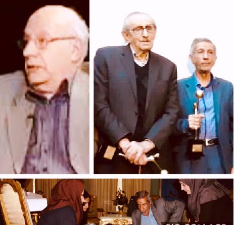 تجلیل از دو چهره جاودان فرش دستباف ایران