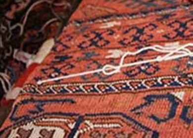 سنتی به نام فرش گور