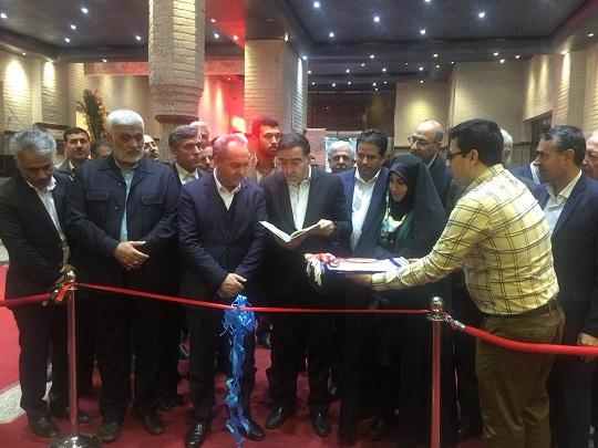 شانزدهمین نمایشگاه فرش دستباف استان قم افتتاح شد