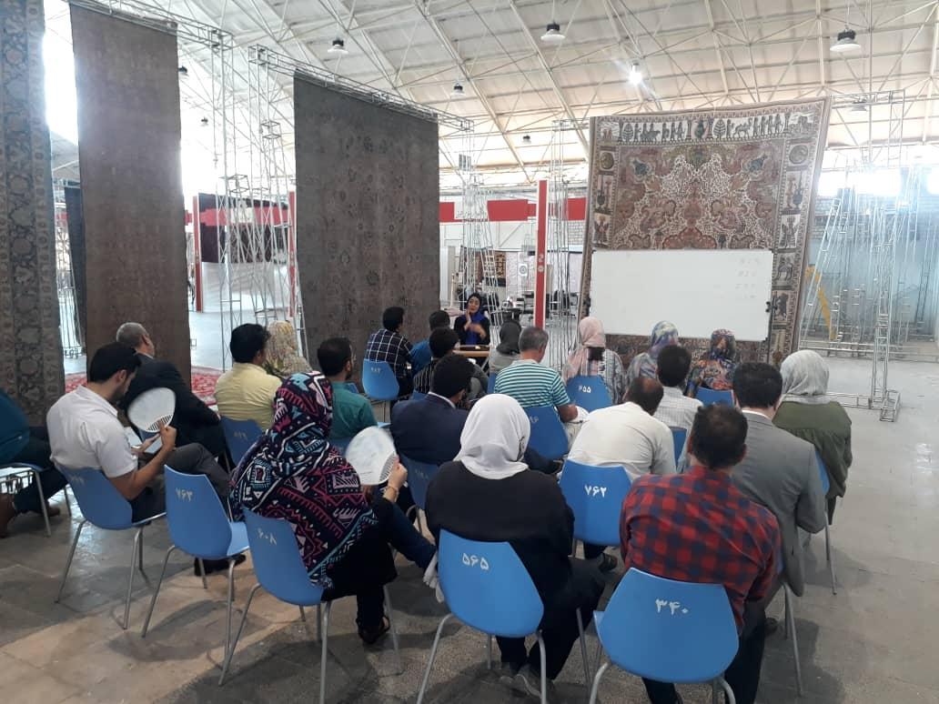 برگزاری کارگاه های آموزشی نمایشگاه فرش دستباف تبریز