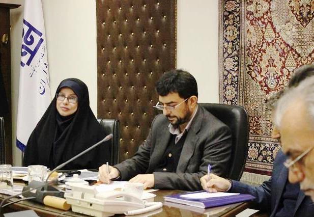 بازدید قائم مقام وزیرصمت در امور بازرگانی از مرکز ملی فرش ایران